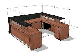 ada reception desk drawing furniture design reception desks reception and desks