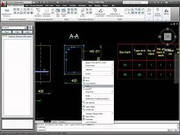 Rebar Design And Detailing Data Chart Autocad 2011 Structural Detailing Tutorial Reinforcement Bar Definition
