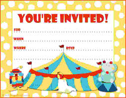 party invitations printable princess tea party invitations printable party invitations big top circus themed party invite