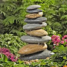 fountain garden. Riverstone Garden Fountain