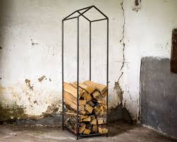the woodhaven 8 foot firewood log rack with cover fireplace ash bucket firewood