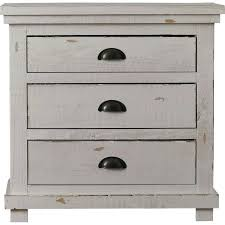rustic white nightstand. Rustic White Furniture Distressed Wood Nightstand Gray Dresser Nightstands N