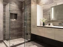modern shower tile. Fine Tile Image Of Modern Shower Tile With Mirror For B
