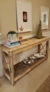 wooden pallet furniture design. Pallet Hallway Console - 125 Awesome DIY #Pallet Furniture Ideas | 101 Wooden Design E