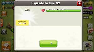 proof level 12 walls coming soon will take time to upgrade