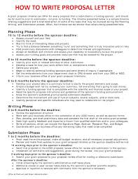 Unsolicited Proposal Template Best Resumes