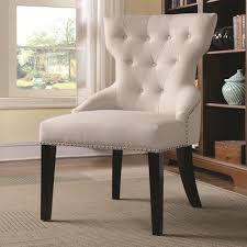 fabric accent chairs.  Fabric White Fabric Accent Chair Intended Chairs N