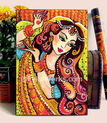 mermaid painting girls room decor indian woman painting home decor