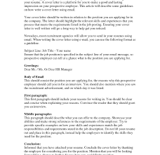 how to send resume via email email resume cover letter message executive template and subject