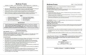 Marketing Communications Manager Resume Example My Career Guideline