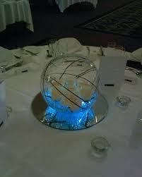 glass bowl centerpieces for weddings best images about wedding fish on