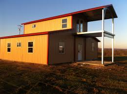 American Barn Style Steel Building by AmeriBuilt Steel Structures
