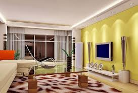 Two Sofa Living Room Design Living Room Yellow Living Room With Two Sofa And Single Table