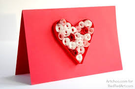 37 Easy Valentines Cards For Kids Red Ted Art