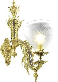 reion antique victorian rococo wall sconces