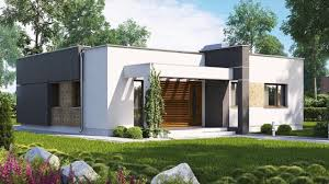 86 m² a compact modern two bedroom house with large kitchen small house design ideas