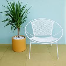 vintage mid century modern patio furniture. Furniture Vintage Modern Outdoor Unbelievable Pair Of Salterini Hoop Mid Century Patio Lounge Chairs For