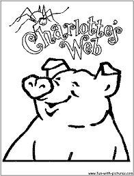 Charlottes Web Coloring Pages - Free Printable Colouring Pages for ...