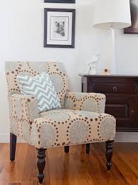 Patterned Living Room Chairs Photos Anna Williams Hgtv