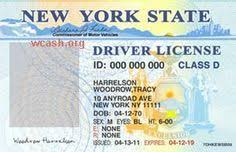 Passport Drivers Editable File Photoshop Templates New Online York Template License psd