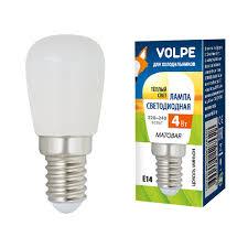 <b>Volpe LED</b>-<b>Y25</b>-<b>4W</b>/<b>3000K</b>/<b>E14</b>/<b>FR</b>/<b>Z</b> (UL-00006501) - <b>Лампочки</b>.ру