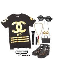 chanel shirt. shirt coco chanel jersey gold and black sunglasses