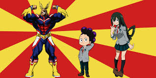 Height Chart My Hero Academia My Hero Academia Characters Ranked From Worst To Best