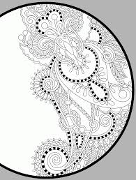 Simple Christmas Free Printable Abstract Coloring Pages Adults
