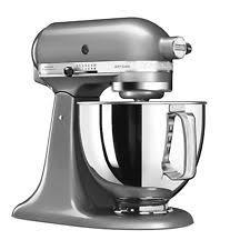 kitchenaid stand mixer. kitchenaid artisan 5ksm125bcu 4.8 l stand mixer - contour silver kitchenaid