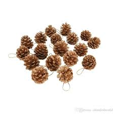 4 6cm pine cones pendant with string natural wood tree ornaments ping ornaments from chinaledworld