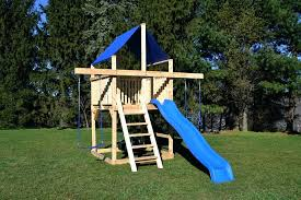 playsets for small yards backyard for small yards wooden playsets small yards
