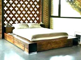 japanese bed frame. Japanese Bed Frame Set Platform Dimensions Simple Style Floating With King .