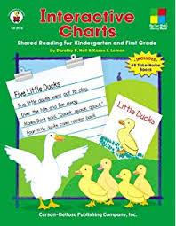 Predictable Charts Kindergarten Amazon Com Predictable Charts Grades K 1 Shared Writing