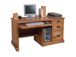 Sunny Designs Sedona Rustic Oak Computer Desk   Conlin's Furniture   Single  Pedestal Desks