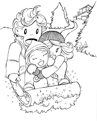 Downloads Online Coloring Page Free Winter Coloring Pages 65 In