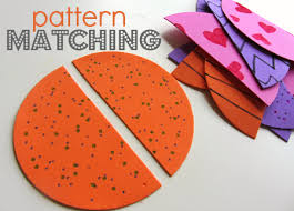 Pattern Activities For Preschoolers Mesmerizing Pattern Matching For Preschoolers