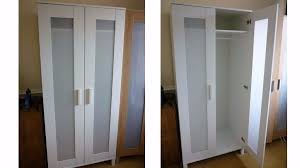 ikea aneboda wardrobe white 2 door wardrobe storage home