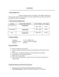 Mba Resume Template Career Objective For Resume For Mba Over And Resume Samples With ...