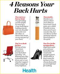 4 surprising reasons your back hurts health news tips trends celebrity health