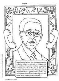 Small Picture Black History Month coloring book page featuring Dr Daniel Hale