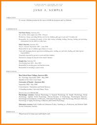 Day Care Experience On Resume Child Care Worker Resume