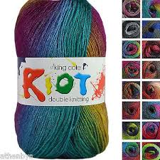 Details About King Cole Riot Dk 100g Acrylic Wool Blend