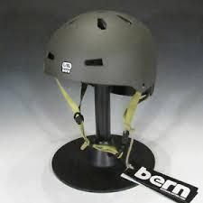 Details About Bern Macon Certified Skateboard Skate Bike Helmet Charcoal Grey L Xl