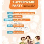 Tupperware Party Invitations Tupperware Party Invitations Tupperware Pinterest Party Tupperware