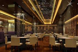 Contemporary Restaurant Design Enjoyable Ideas 10 Awesome 3d Featuring Cool  Led Lighting Decor And.