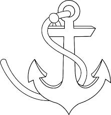 coloring pages of anchors navy anchor coloring pages navy boat coloring pages anchor coloring page navy
