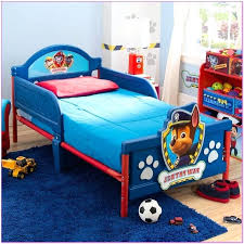 paw patrol toddler bed paw patrol all paws on deck 4 piece toddler bed set paw