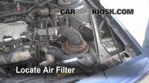 third brake light bulb change oldsmobile cutlass ciera 1990 1996 1990 1996 oldsmobile cutlass ciera engine air filter check