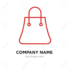 Bag Company Logo Design Shopping Bags Company Logo Design Template Shopping Bags Logotype
