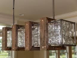 lighting wine bottle light fixtures amusing to build glass chandelier tos diy fixture pottery barn